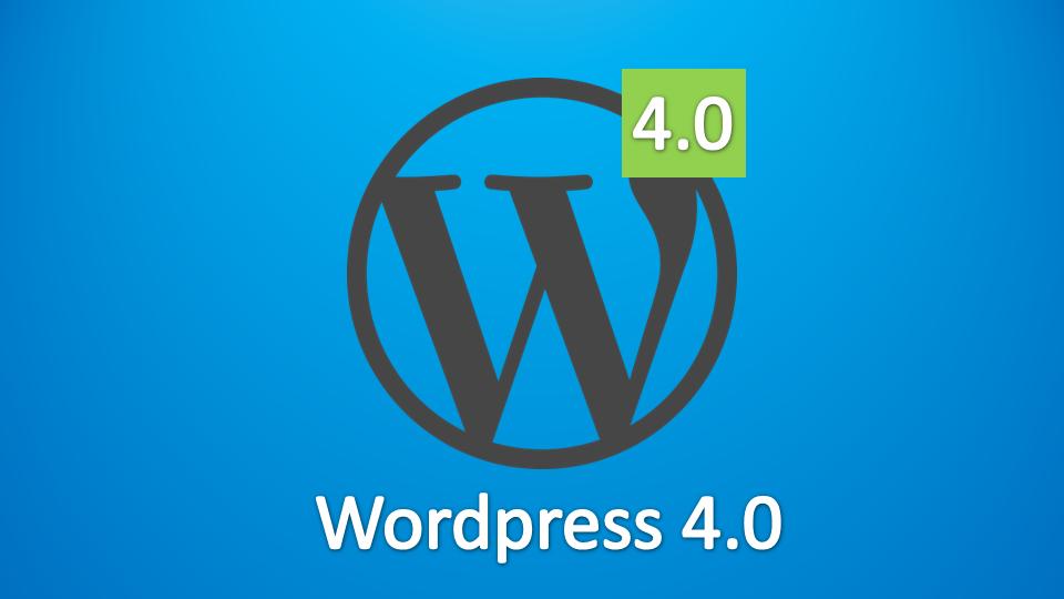 De verwachtingen van WordPress 4.0