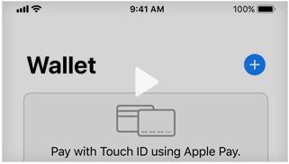 Instellen van een wallet